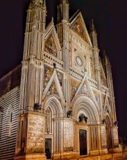 Front Facade of Orvieto Cathedral