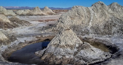 Salton Sea Mud Volcanoes
