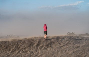 Mesquite Sand Storm - Death Valley