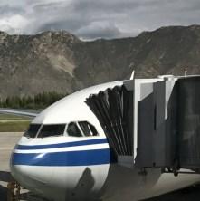 Gonggar Airport in Lhasa, Tibet