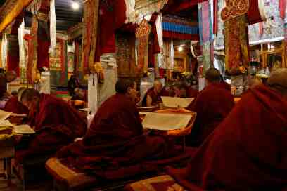 Ani Tsamkhong Nunnery, the largest and most active nunnery in Lhasa Tibet