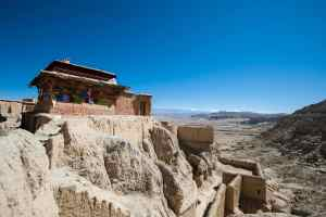Palace of Ali Guge ruins, Tibet
