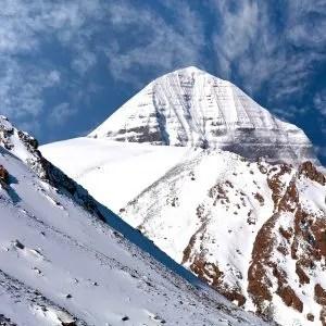 Sacred mount Kailash in Tibet