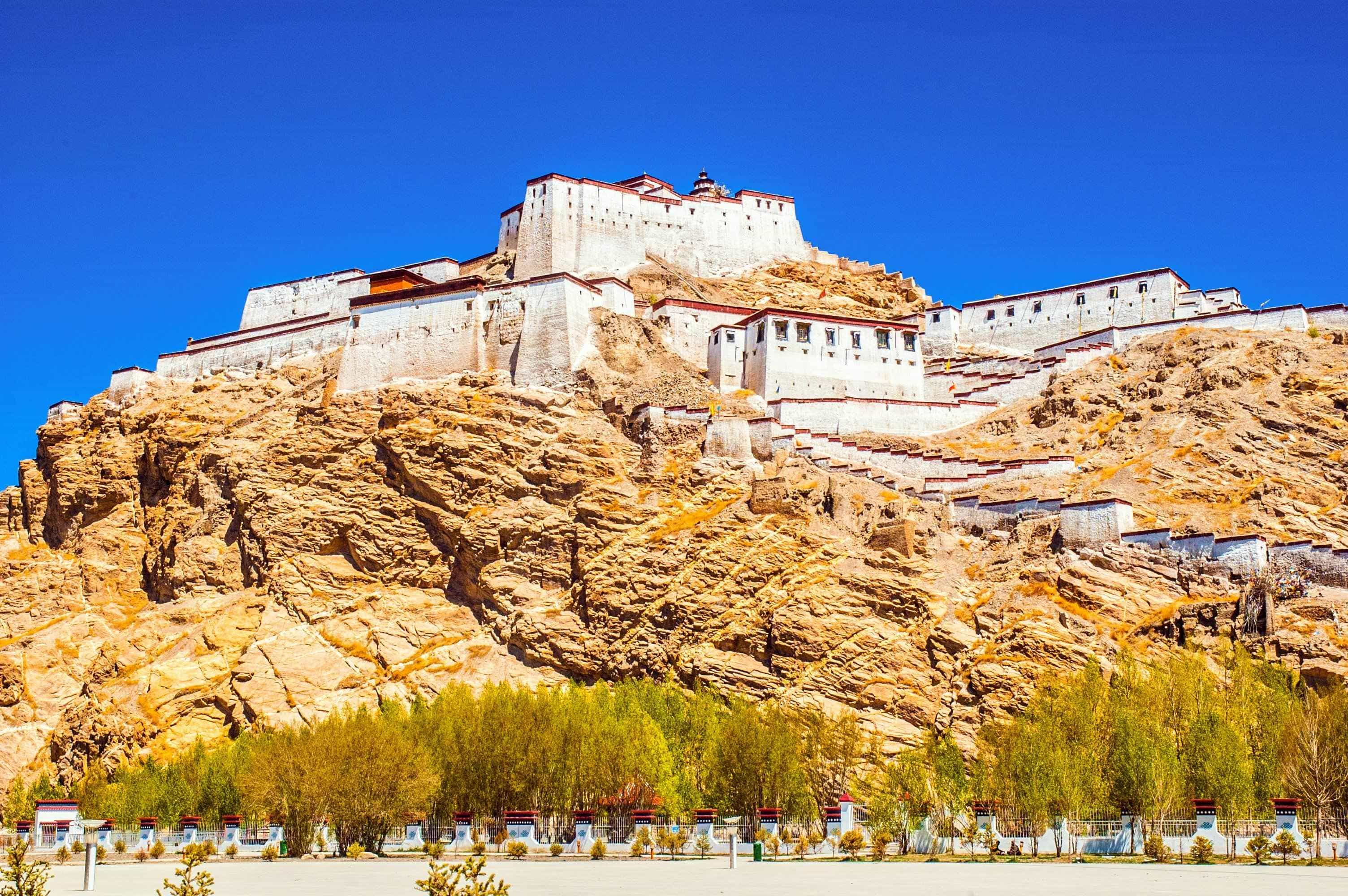 Gyantse old fort