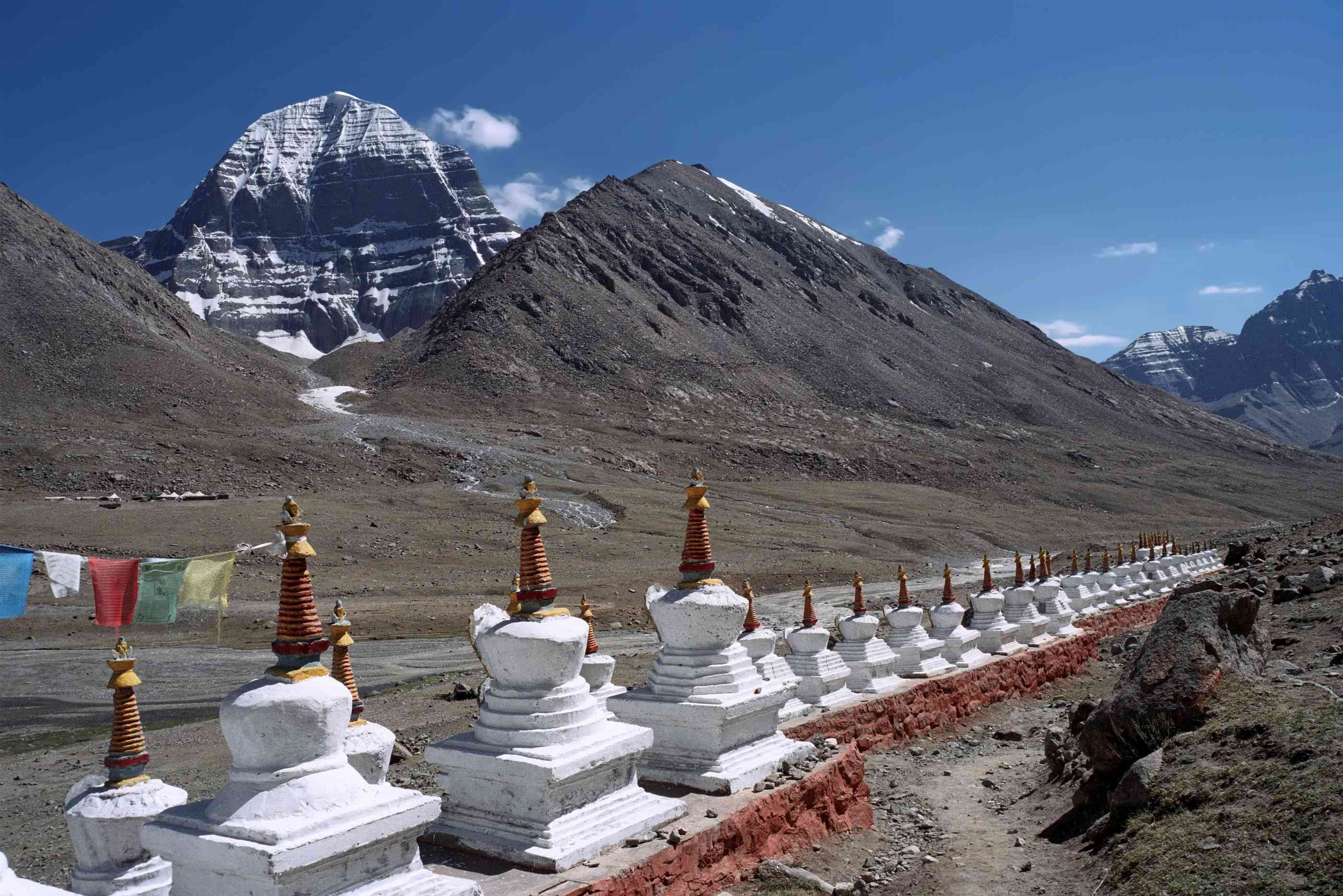 Trekking around Mt Kailash in Tibet