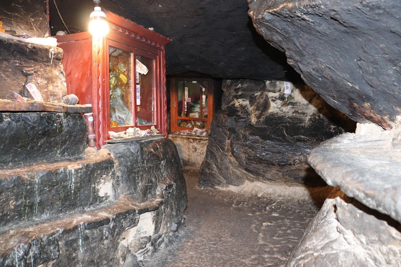 Meditation cave in Rongbuk monastery