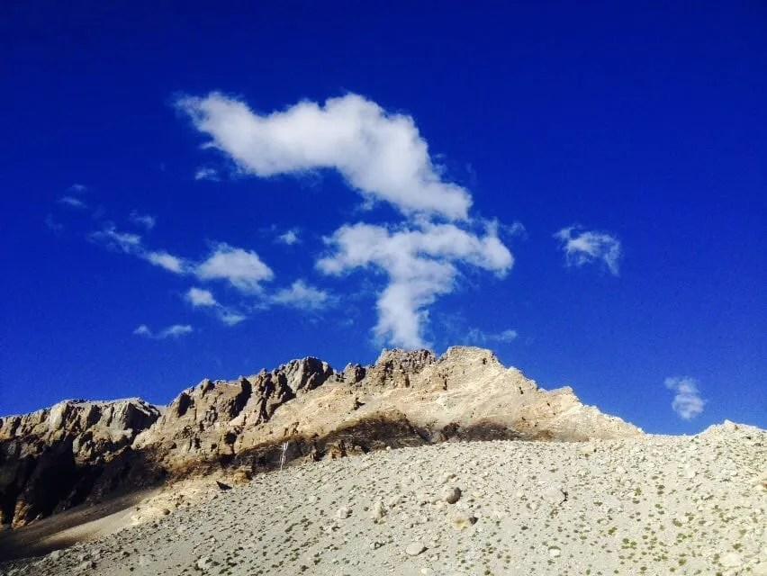 Road views in Tibet