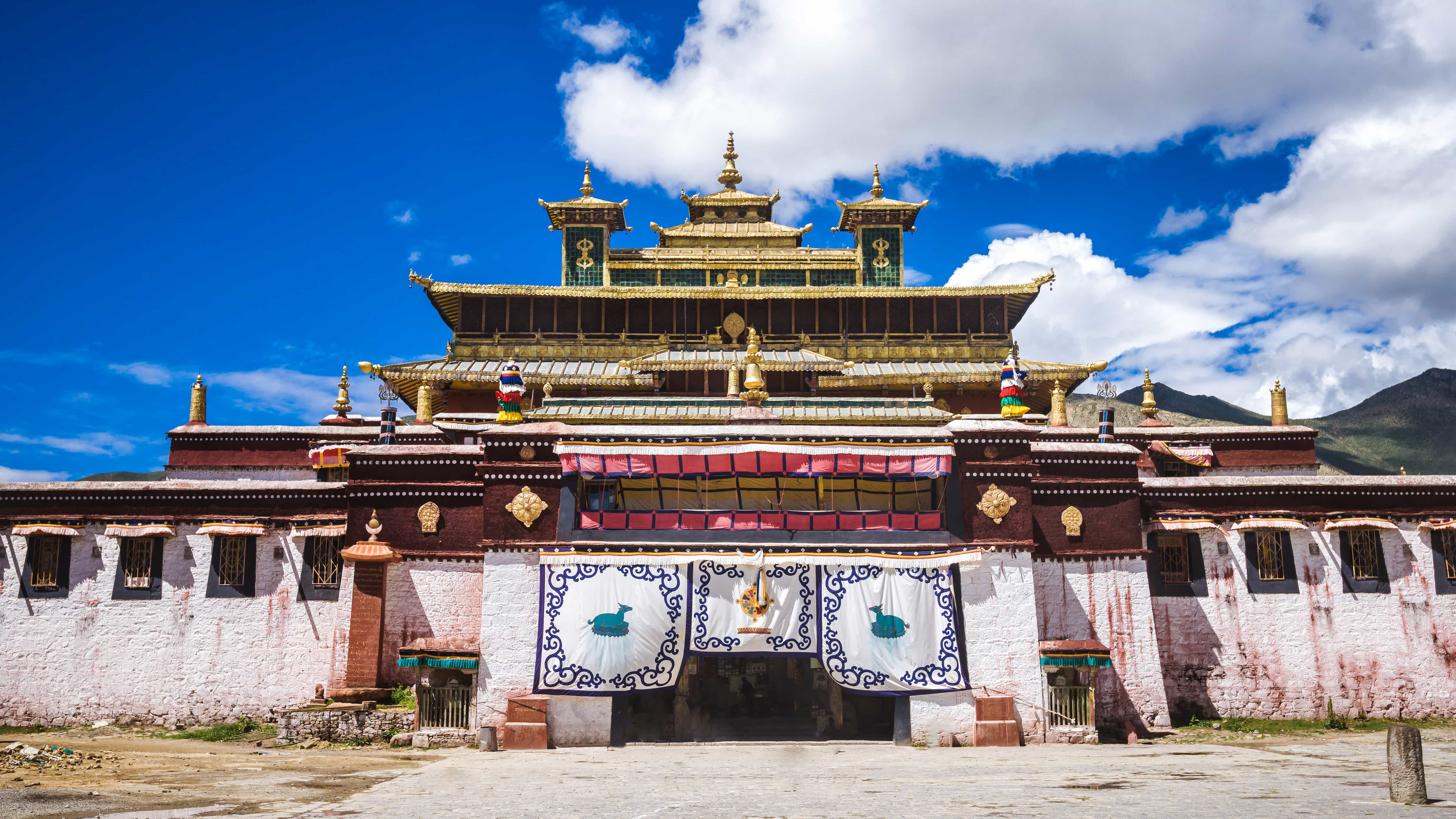 Samye Monastery the first Buddhist monastery in Tibet
