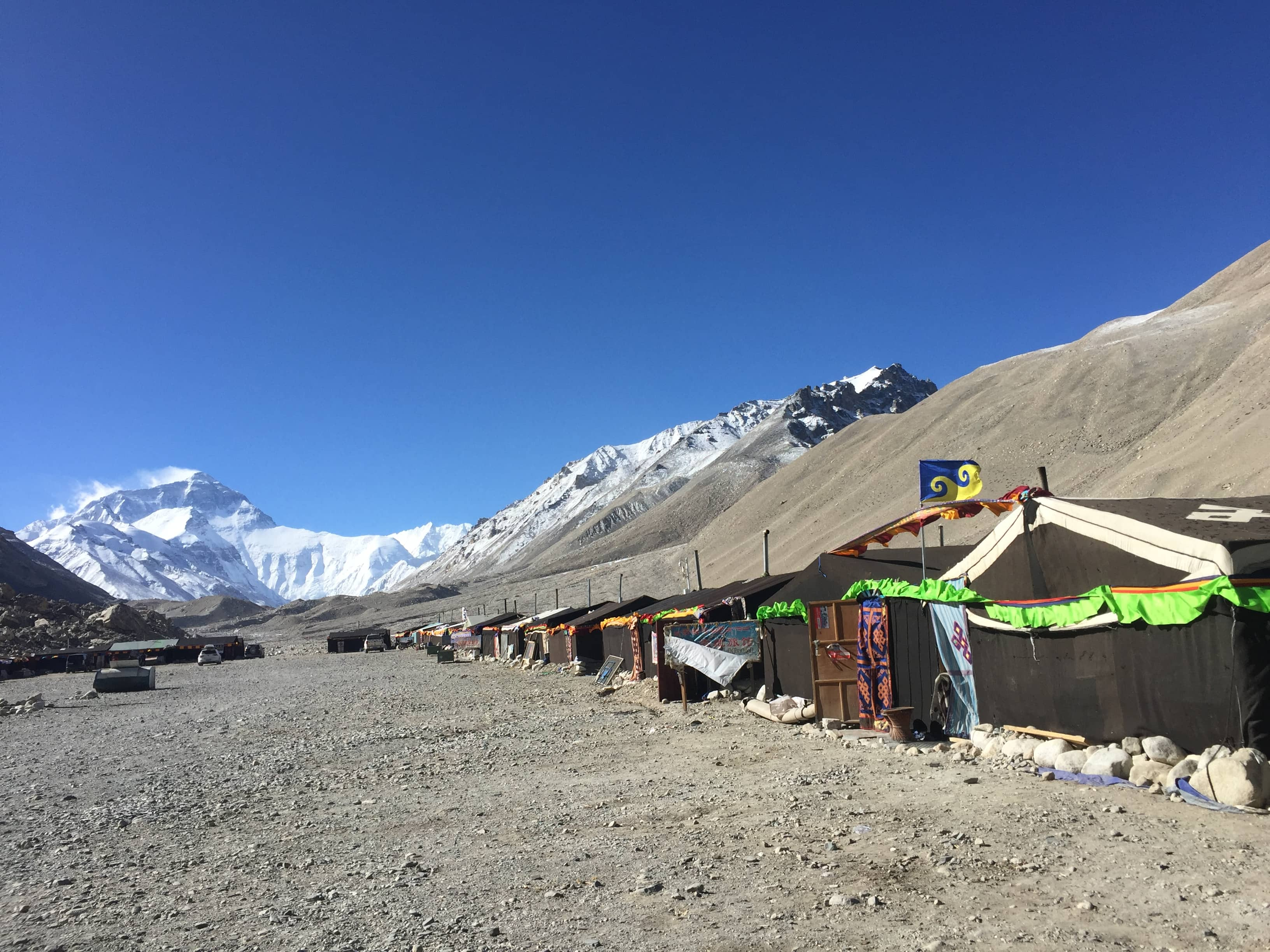 Tents in the Everest Base Camp