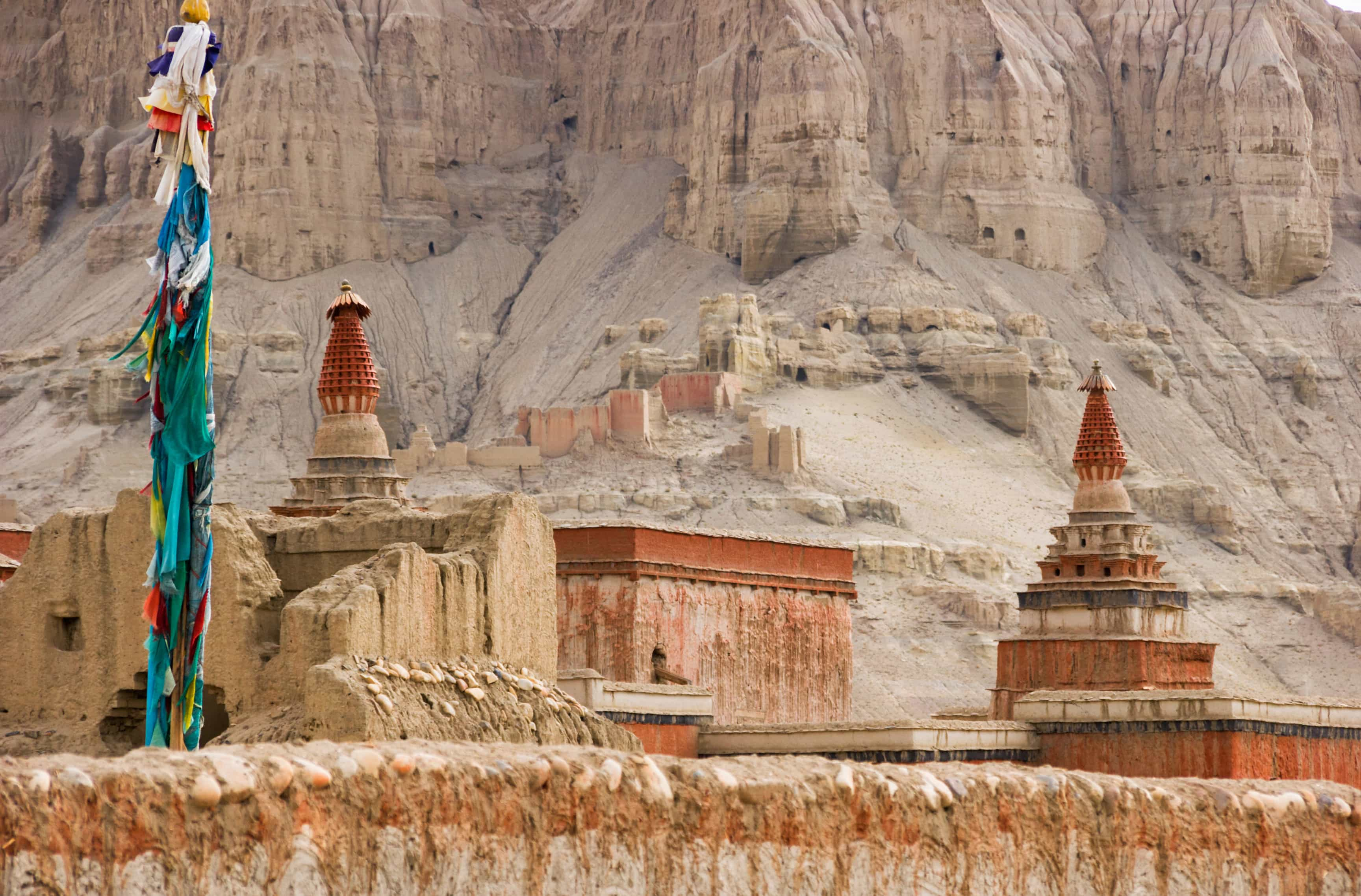 Tholing Monastery in the village of Sand Guge Kingdom