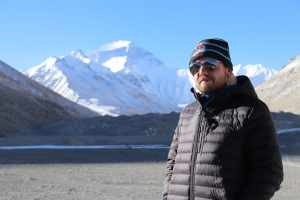 Visiting Everest Base Camp in Tibet