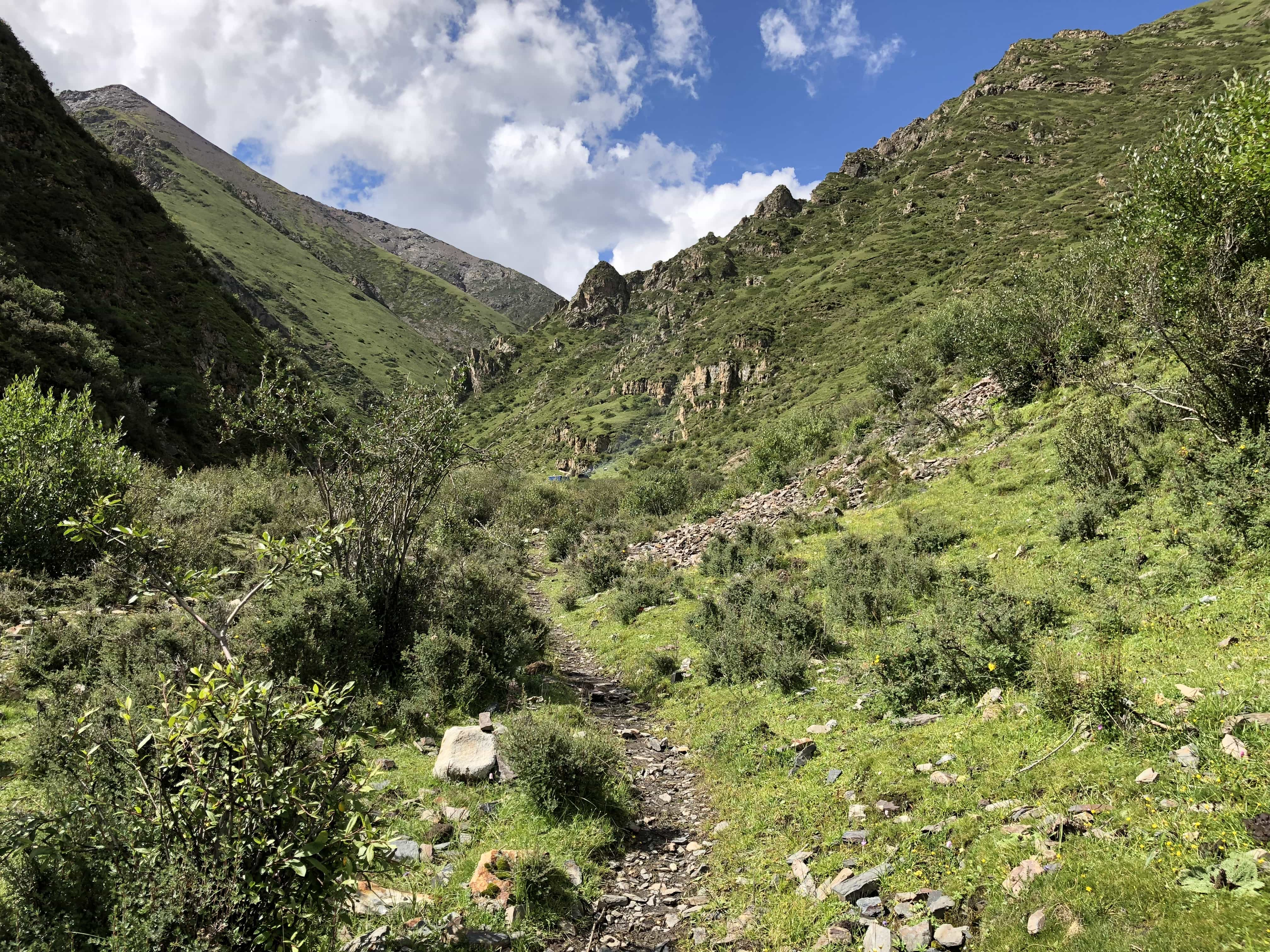 Path to herders campsite