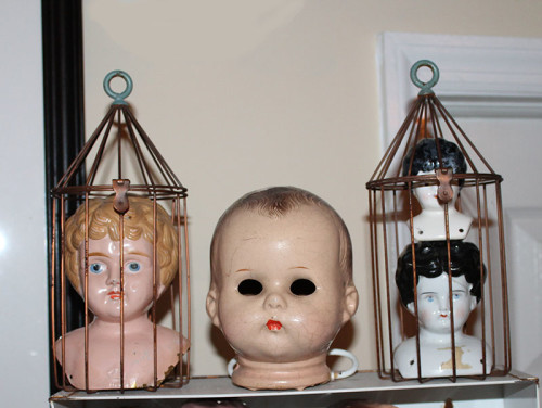 Heads in Cages