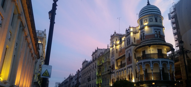 HelloTalk and meeting friends in Sevilla