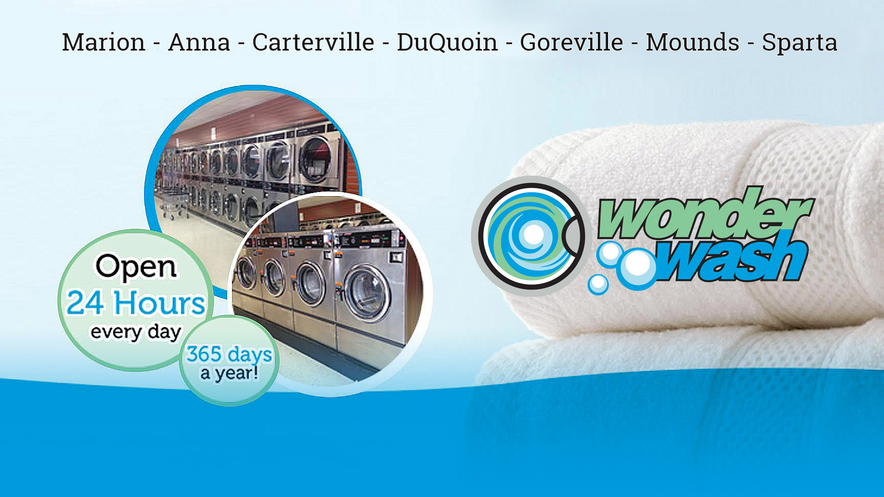 Wonder Wash Southern Illinois Laundromat & Laundry Services