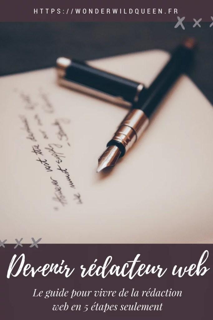 Comment devenir rédacteur web ? Le guide en 5 étapes #redaction #redactionweb #ecrire #métier