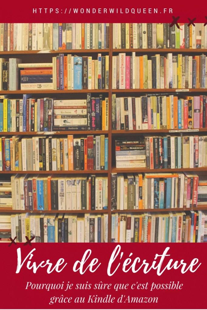 Vivre de l'écriture avec Kindle : la preuve irréfutable #kindle #autoédition #livres #écriture #auteur