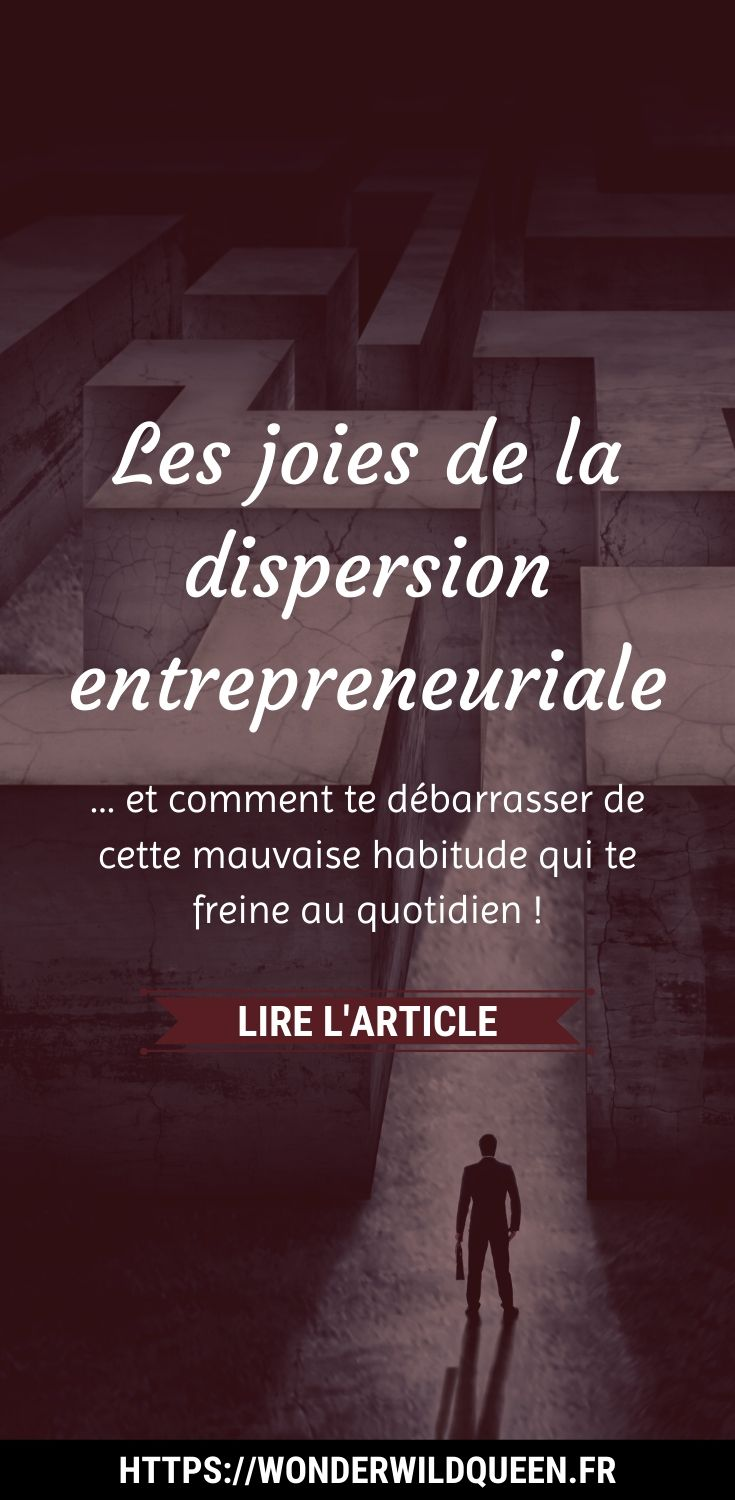 LES JOIES DE LA DISPERSION ENTREPRENEURIALE 💥