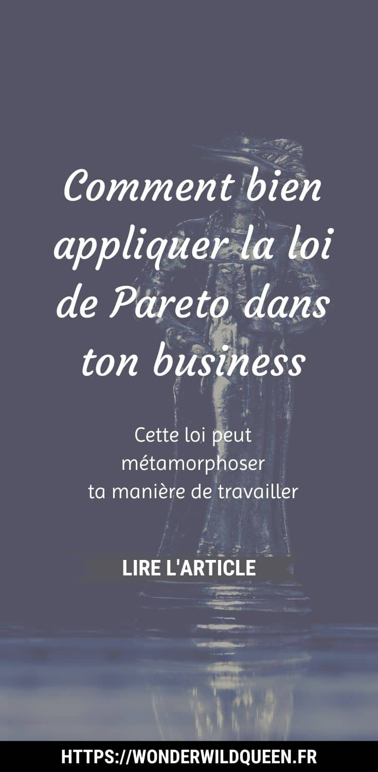 Comment bien appliquer la loi de Pareto dans ton business #pareto #productivité #efficacité