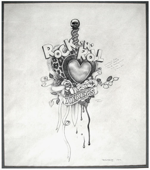 Rock Tattoo Drawing