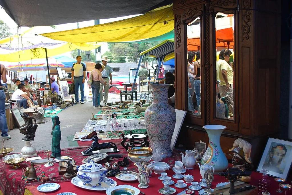 La Lagunilla Street market mexico city