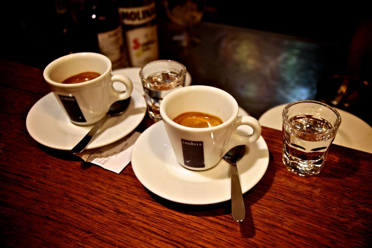 Caffè corretto espresso alcoholic drink