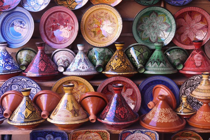 Moroccan Tagines for Sale, Marrakech