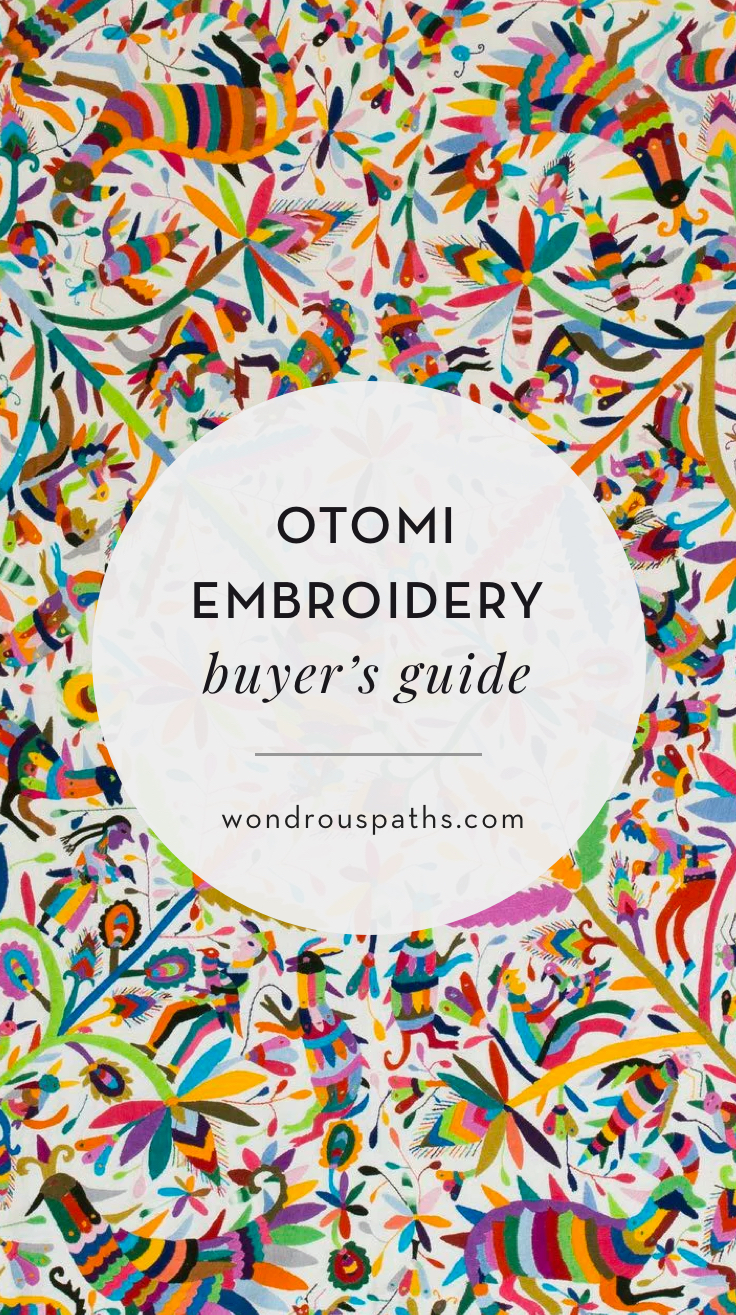 Otomi Embroidery history and buyer's guide   Tenango crafts   Wondrous Paths