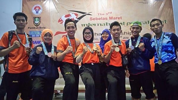 Menjuarai Kejuaraan Internasional