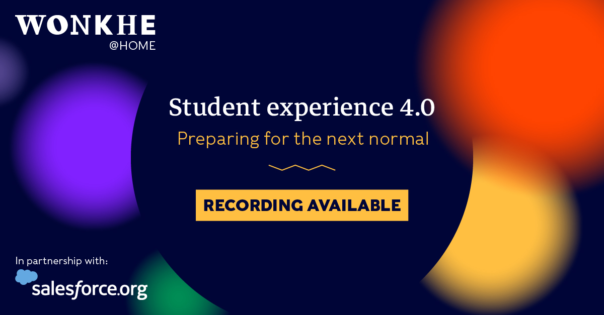 Image of Wonkhe @ Home: Student experience 4.0