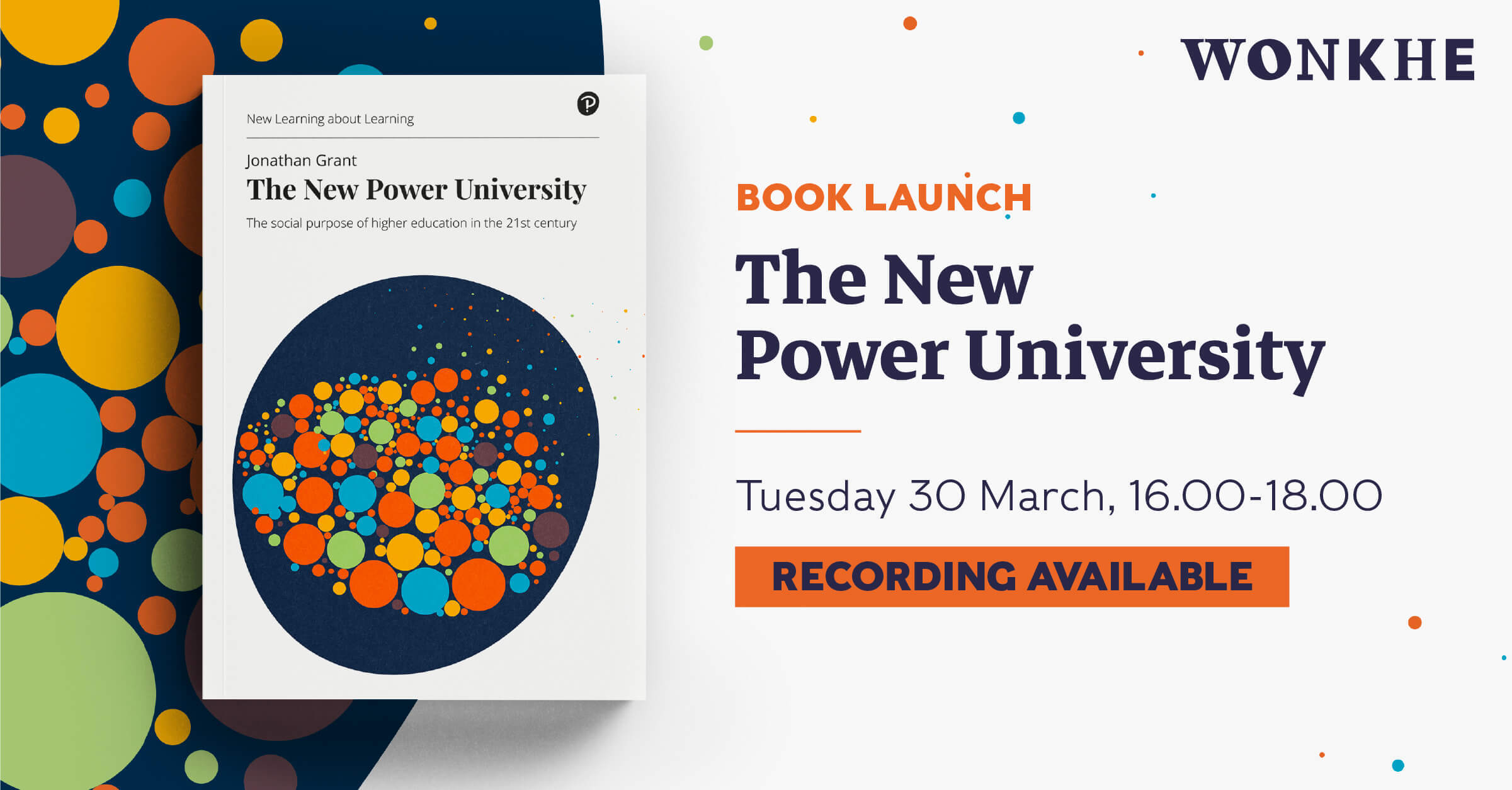 Image of Book launch: The New Power University