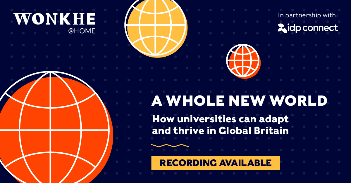 Image of Wonkhe @ Home: A whole new world