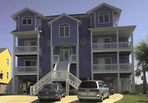 Purple house