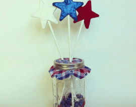 DIY Patriotic Decoration