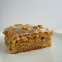 Banana Bread Cake with Brown Butter-Cream Cheese Frosting