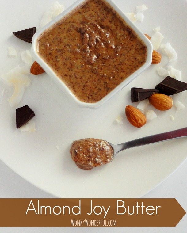 Chocolate Coconut Almond Butter Recipe - Almond Joy Butter Spread