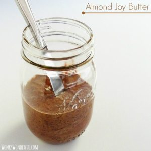 Almond Joy Butter: Almond, Coconut & Chocolate Spread