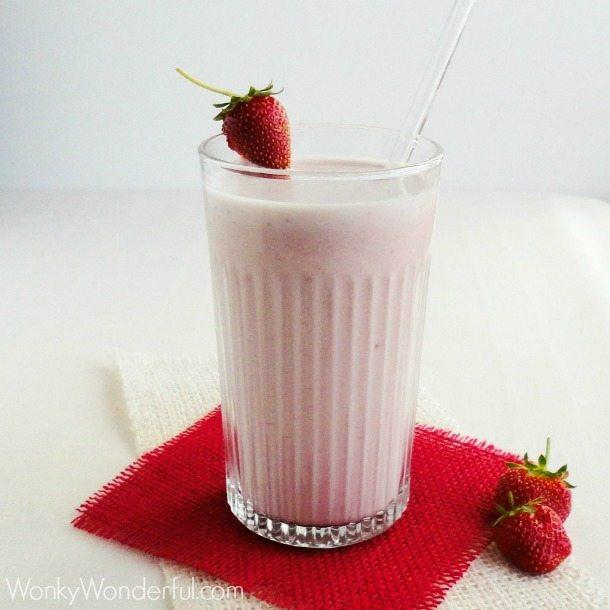 Strawberry Malted Milk ::: wonkywonderful.com