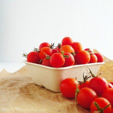 Burst Tomato Pasta
