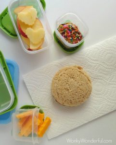 Healthy Kids Lunch with Rubbermaid LunchBlox