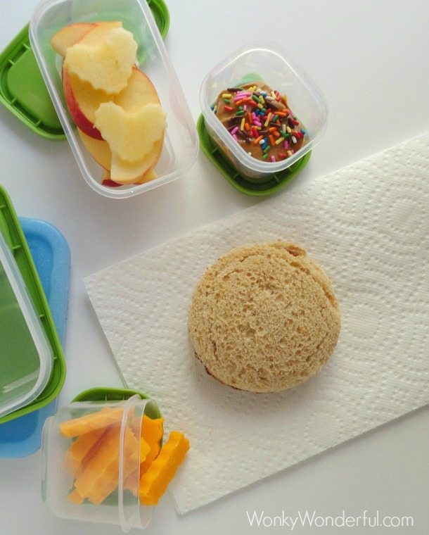 Kids Healthy and Fun Lunchbox Meal ::: wonkywonderful.com