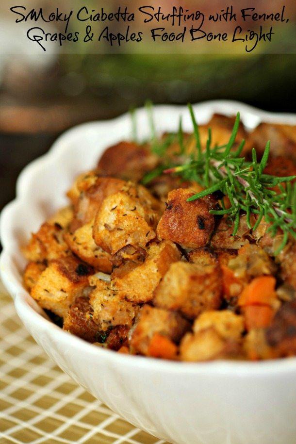 Ciabatta Thanksgiving Stuffing - Traditional Thanksgiving Menu Ideas
