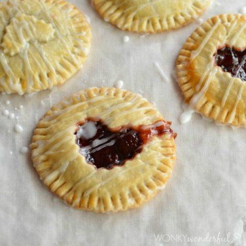 Nutella Cherry Hand Pies