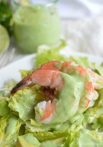 Shrimp Salad with Homemade Dressing