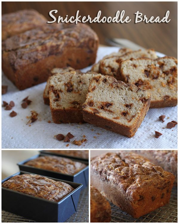 Snickerdoodle Quick Bread