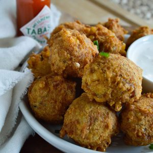 Crab Corn Fritters Recipe