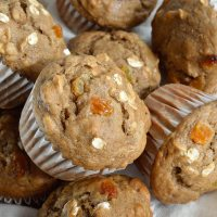 Banana Bread Breakfast Muffins