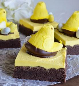 Peeps Chocolate Cake Bars Recipe