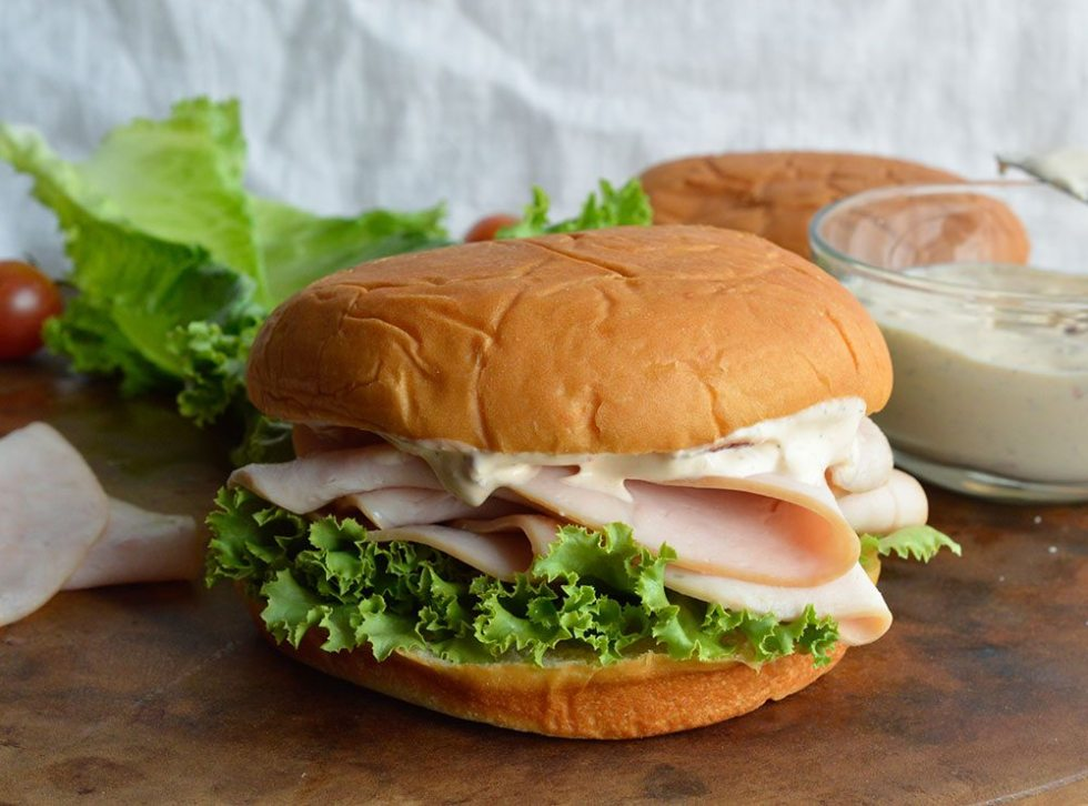 This Turkey Sandwich with Chipotle Ranch Dressing is a flavorful and filling lunch or dinner. And the Homemade Ranch Dressing Spread with Chipotle Peppers is to die for!