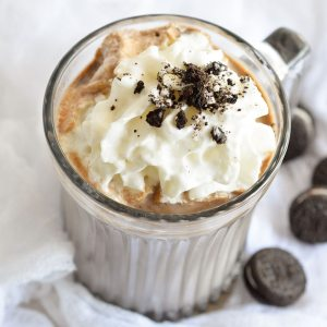 Oreo Hot Chocolate is the perfect Fall or Winter treat! This indulgent hot cocoa recipe begins and ends with OREO Cookies. So you know it's good!